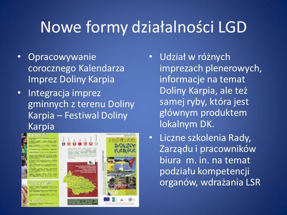Nowe formy działalności LGD