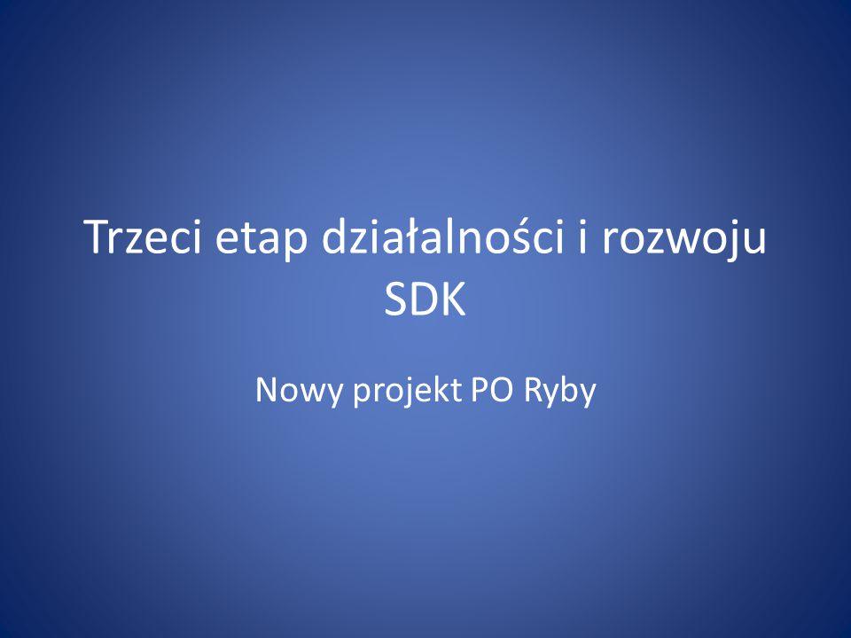 Trzeci etap działalności i rozwoju SDK