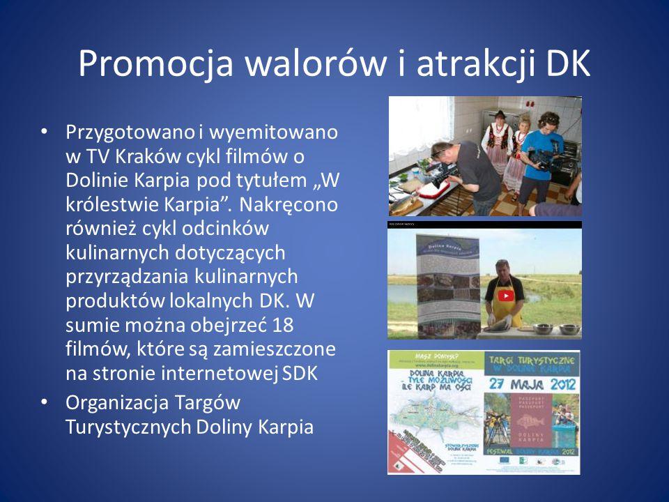 Promocja walorów i atrakcji DK