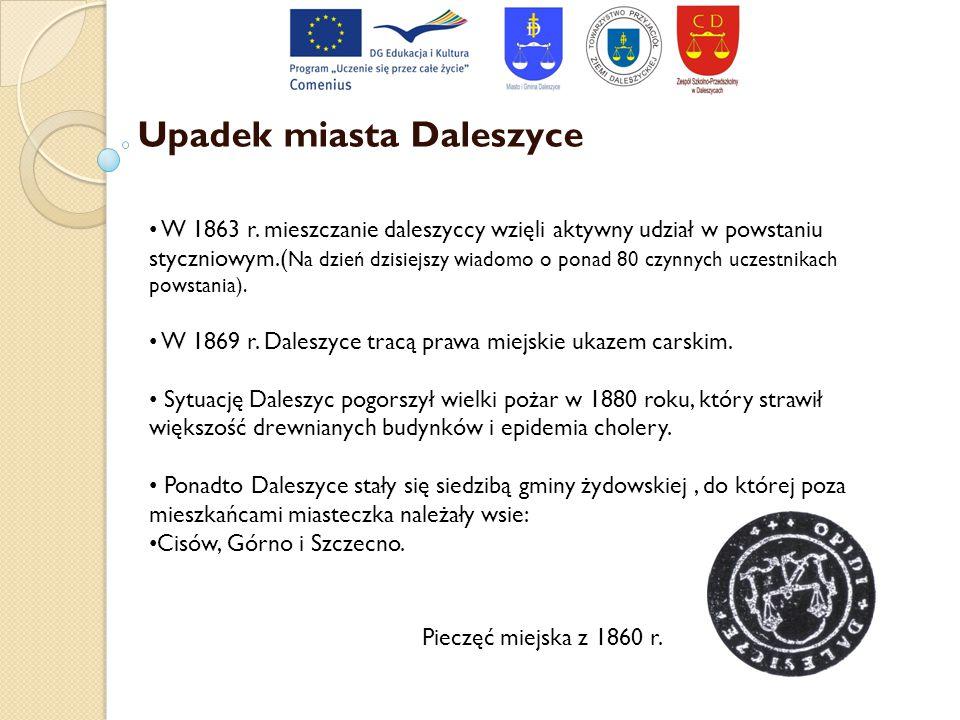 Upadek miasta Daleszyce