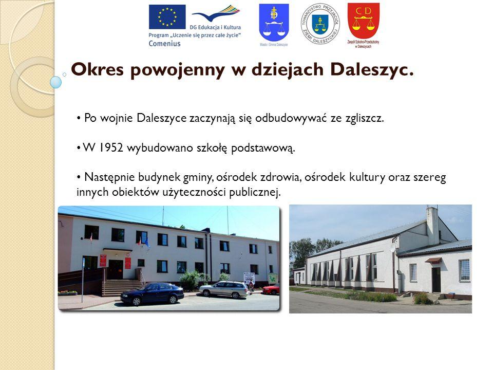 Okres powojenny w dziejach Daleszyc.