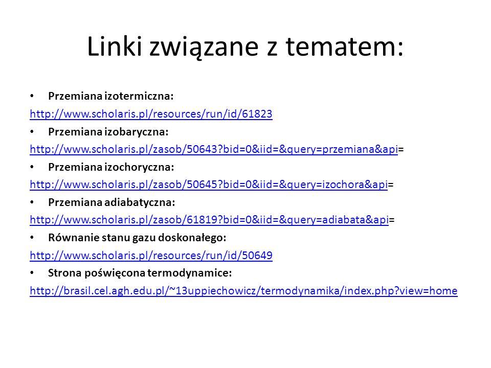 Linki związane z tematem: