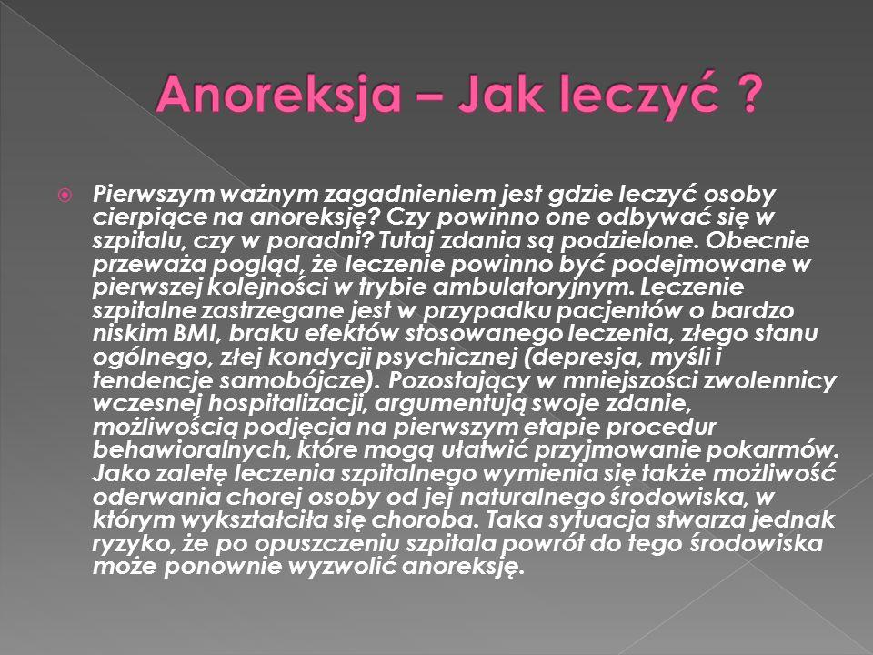 Anoreksja – Jak leczyć