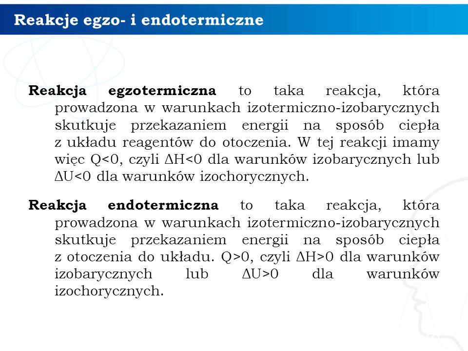 Reakcje egzo- i endotermiczne