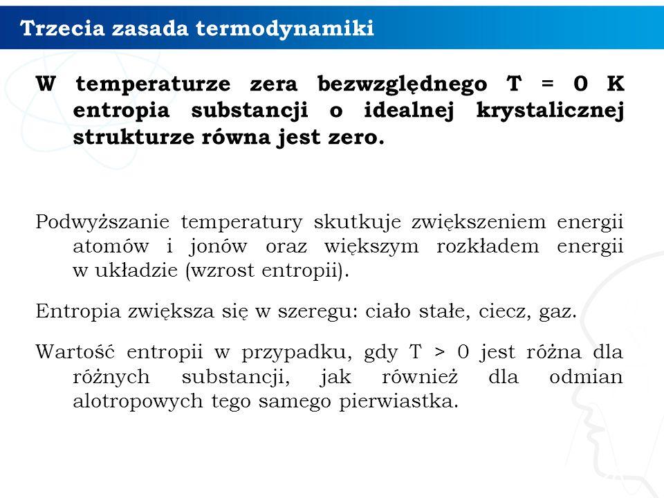 Trzecia zasada termodynamiki