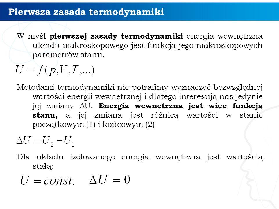 Pierwsza zasada termodynamiki