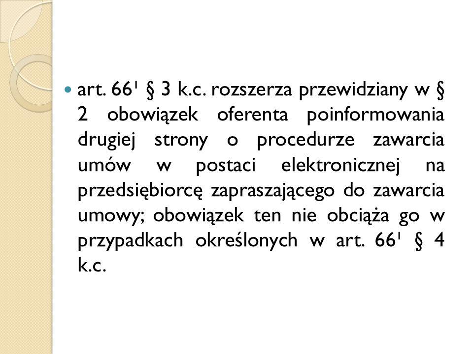 art. 66¹ § 3 k.c.