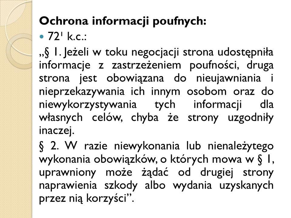 Ochrona informacji poufnych: