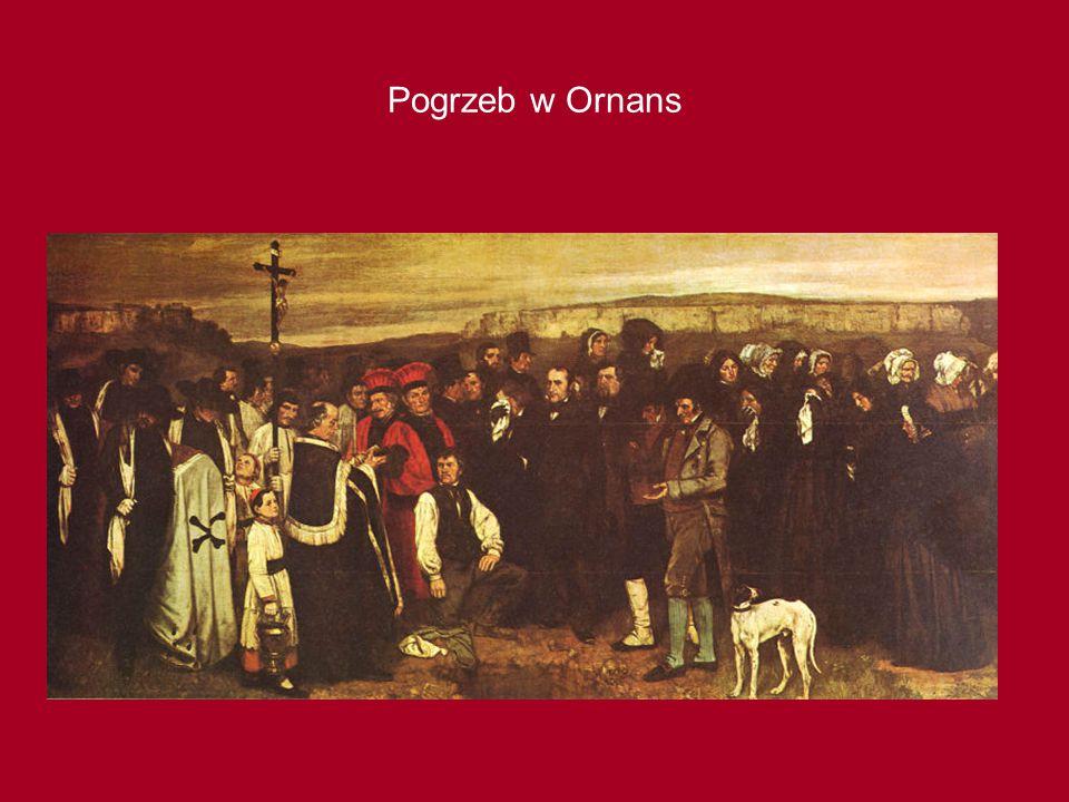 Pogrzeb w Ornans