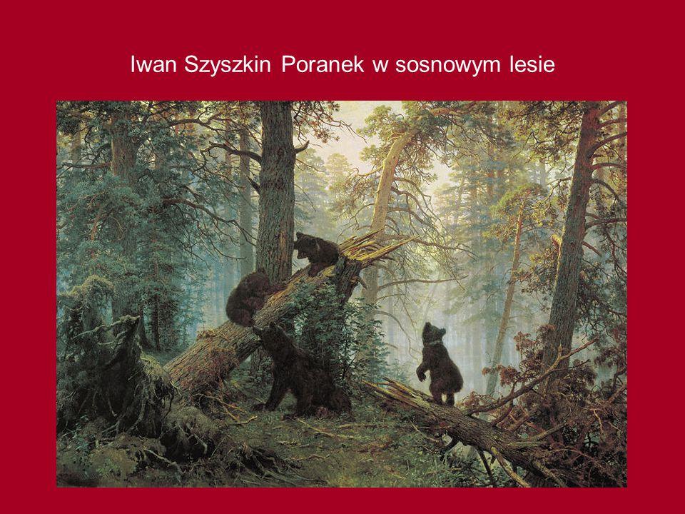 Iwan Szyszkin Poranek w sosnowym lesie