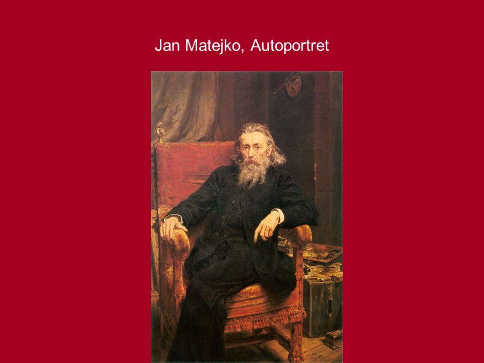 Jan Matejko, Autoportret