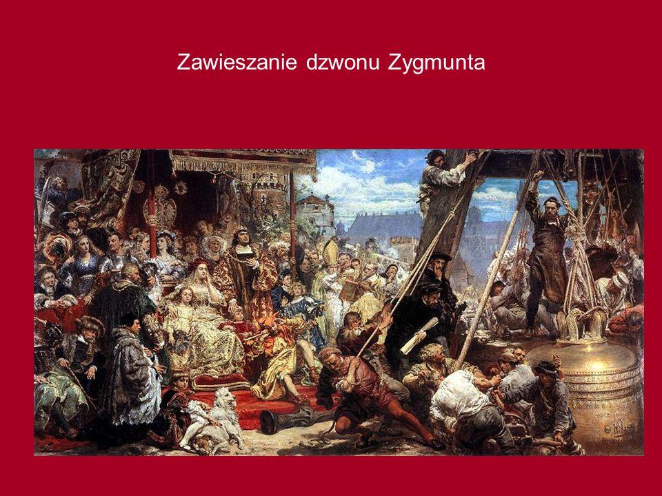 Zawieszanie dzwonu Zygmunta