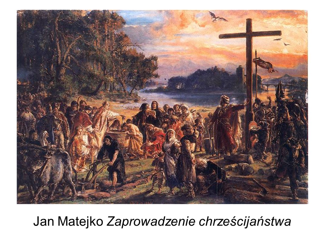 Jan Matejko Zaprowadzenie chrześcijaństwa