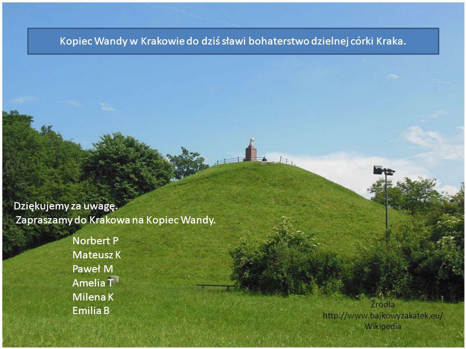 Źródła http://www.bajkowyzakatek.eu/ Wikipedia