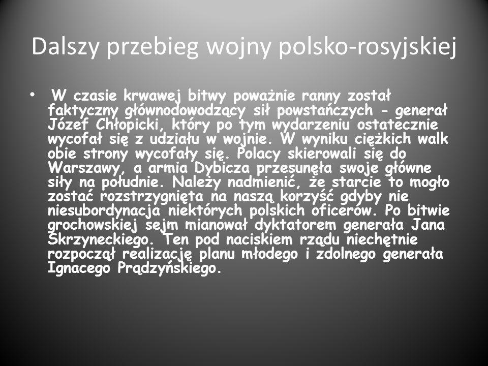 Dalszy przebieg wojny polsko-rosyjskiej