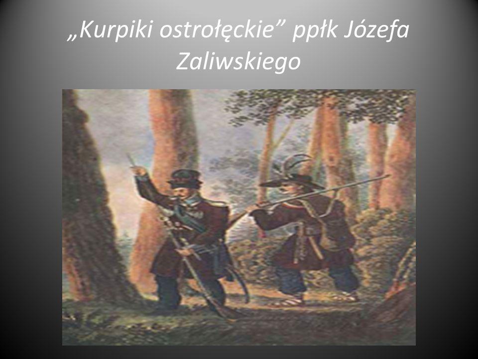 """""""Kurpiki ostrołęckie ppłk Józefa Zaliwskiego"""