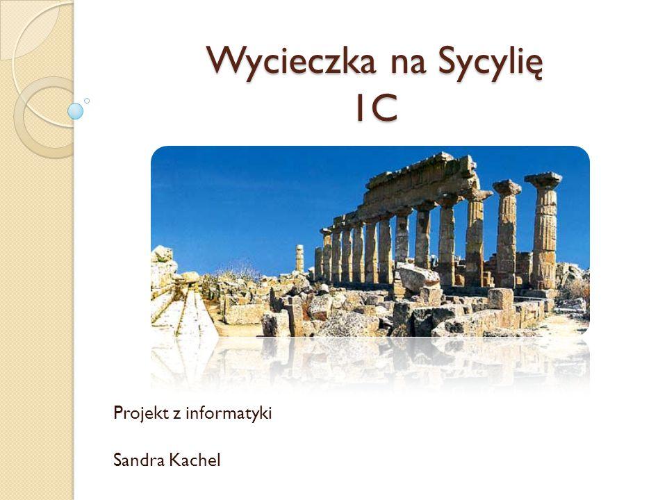 Projekt z informatyki Sandra Kachel