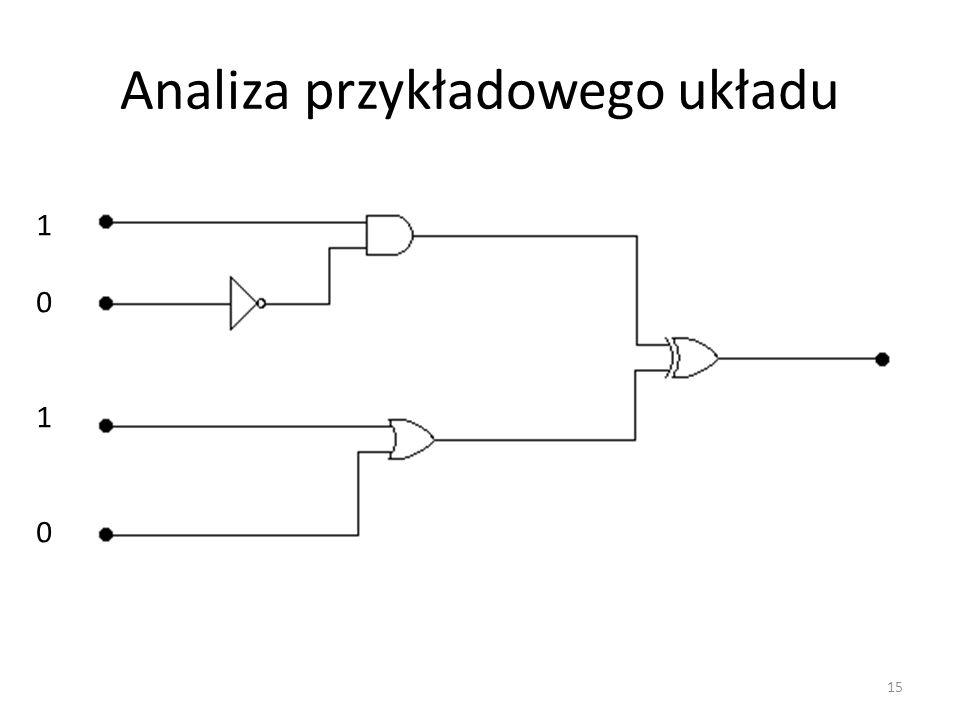 Analiza przykładowego układu