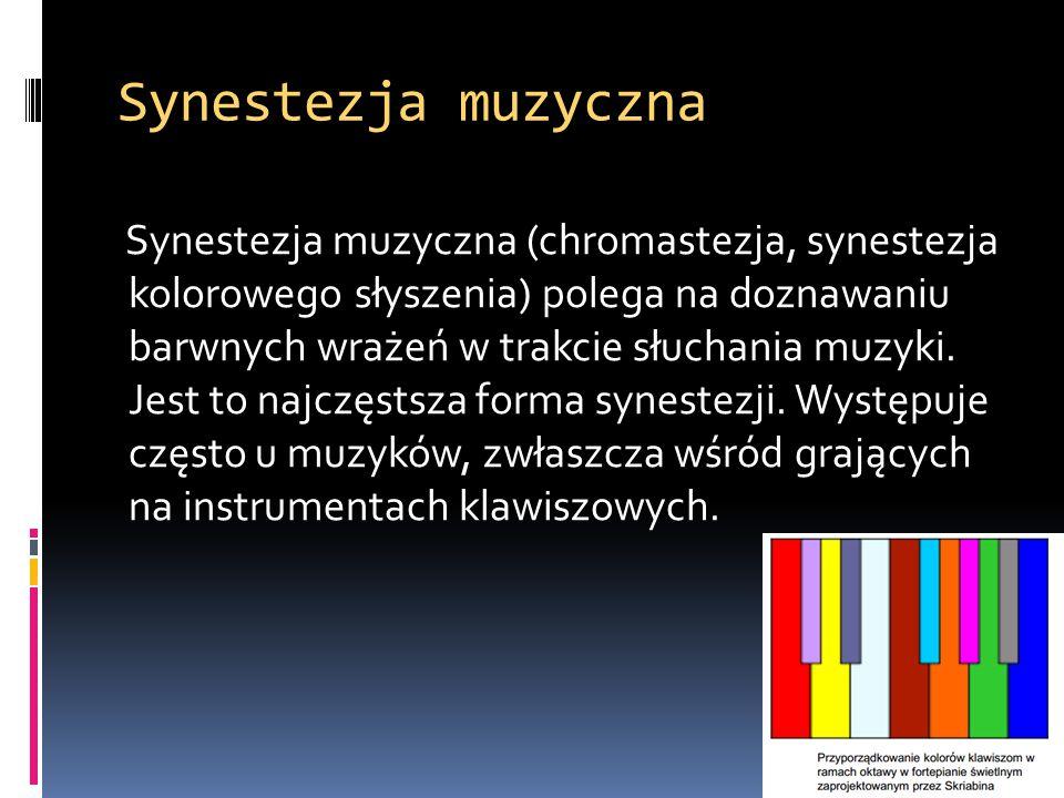 Synestezja muzyczna