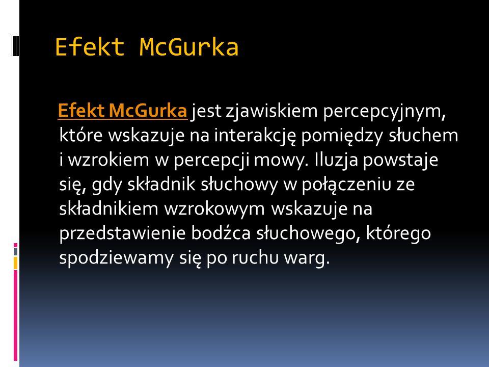 Efekt McGurka