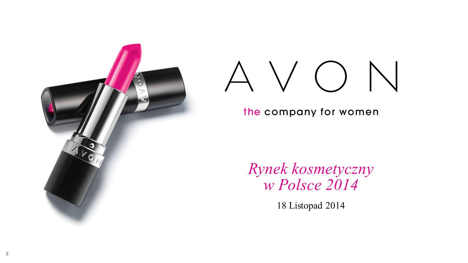 Rynek kosmetyczny w Polsce 2014