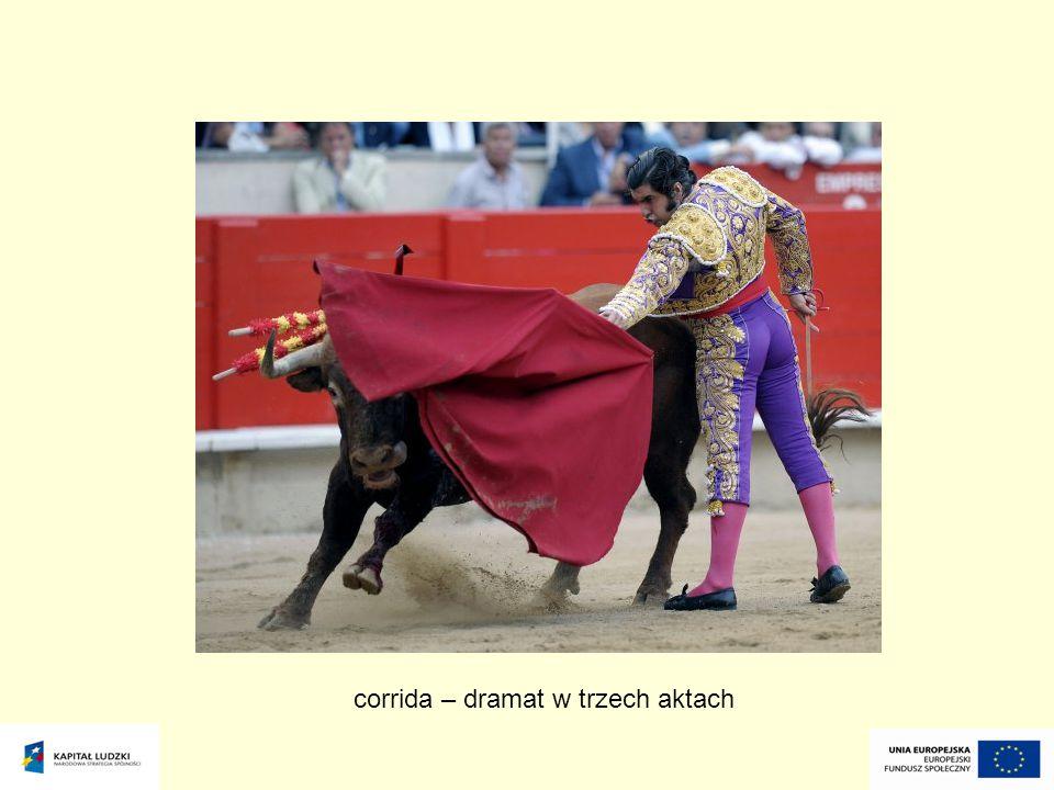 corrida – dramat w trzech aktach