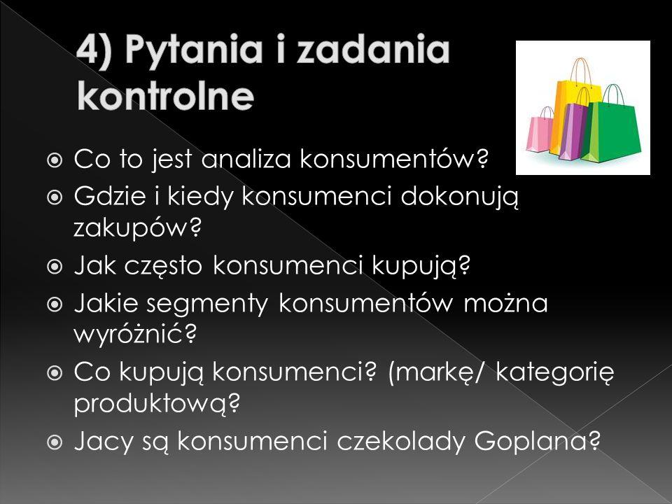 4) Pytania i zadania kontrolne