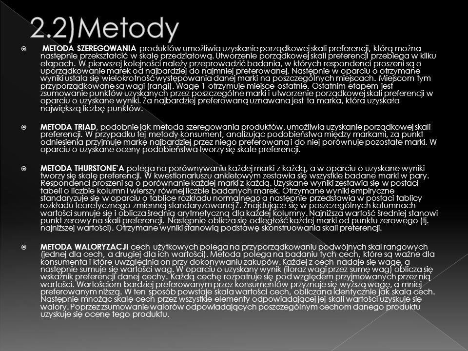 2.2)Metody