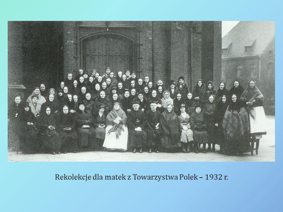 Rekolekcje dla matek z Towarzystwa Polek – 1932 r.