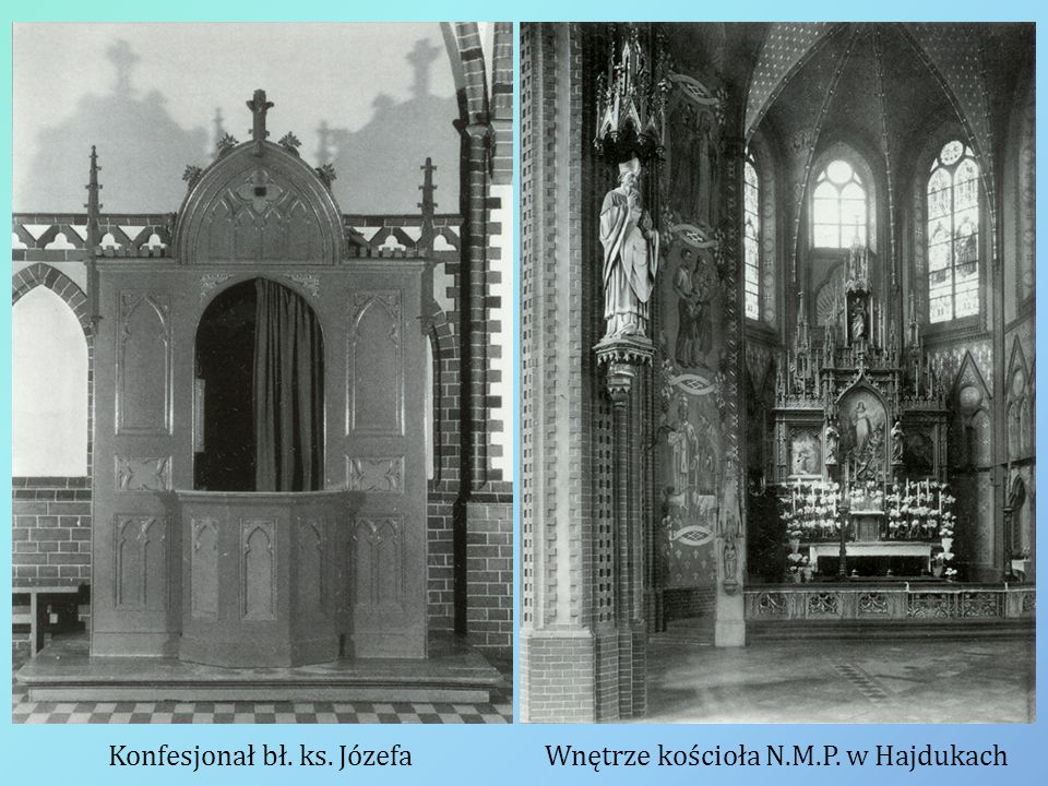 Konfesjonał bł. ks. Józefa