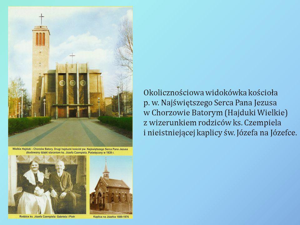 Okolicznościowa widokówka kościoła p. w