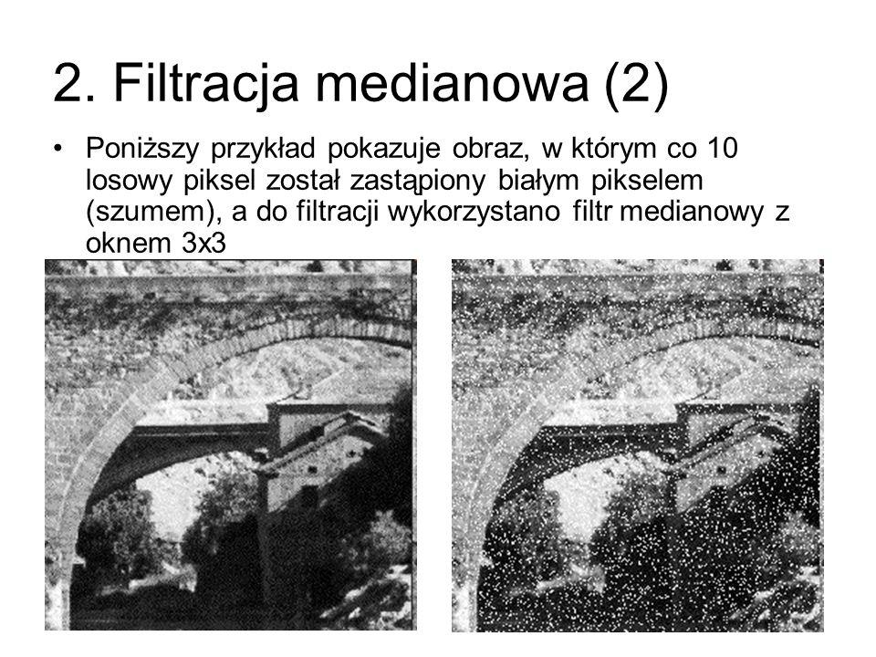 2. Filtracja medianowa (2)