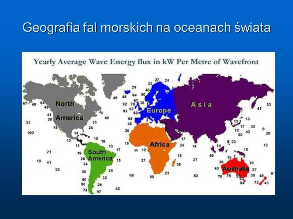 Geografia fal morskich na oceanach świata