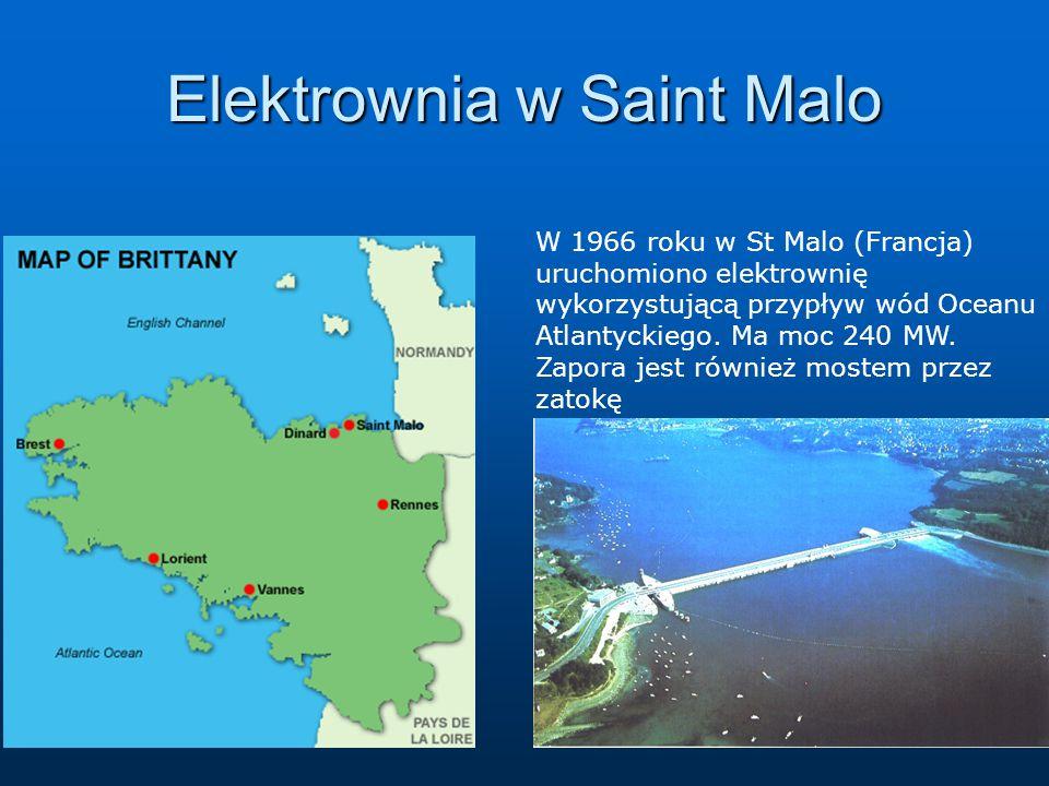Elektrownia w Saint Malo