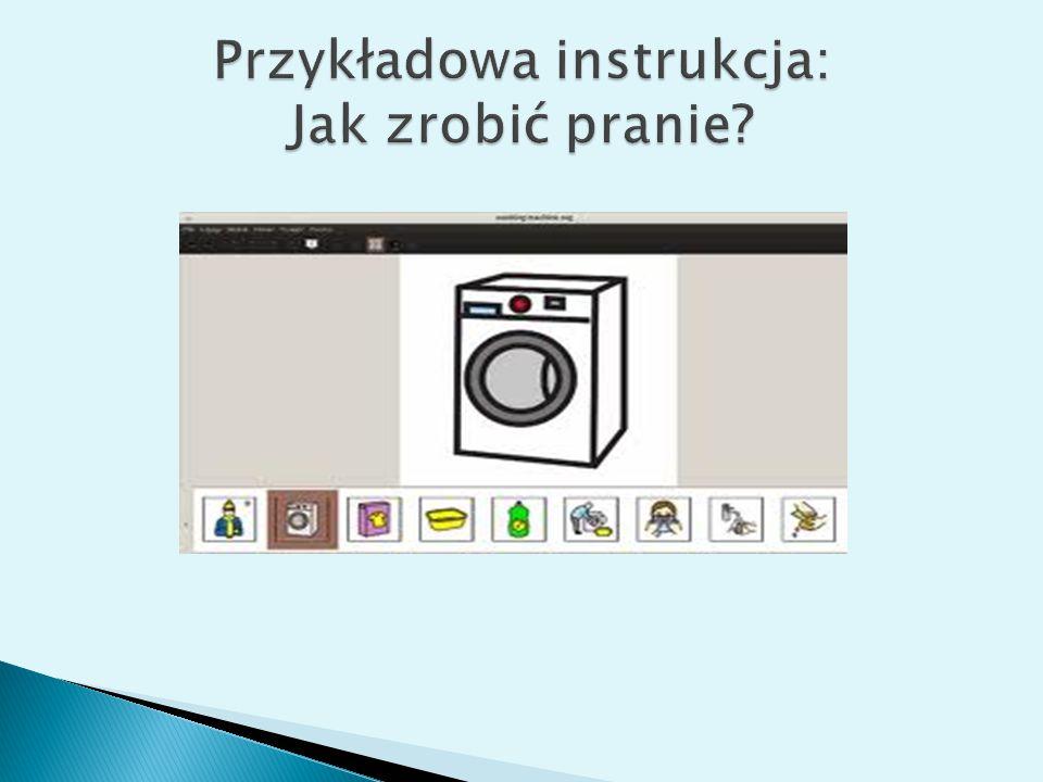 Przykładowa instrukcja: Jak zrobić pranie