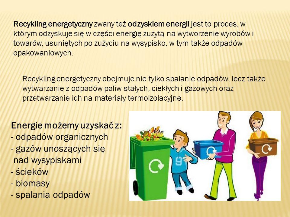 nad wysypiskami - ścieków - biomasy - spalania odpadów