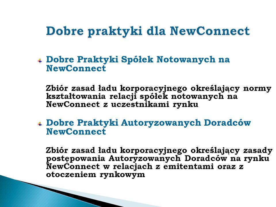 Dobre praktyki dla NewConnect