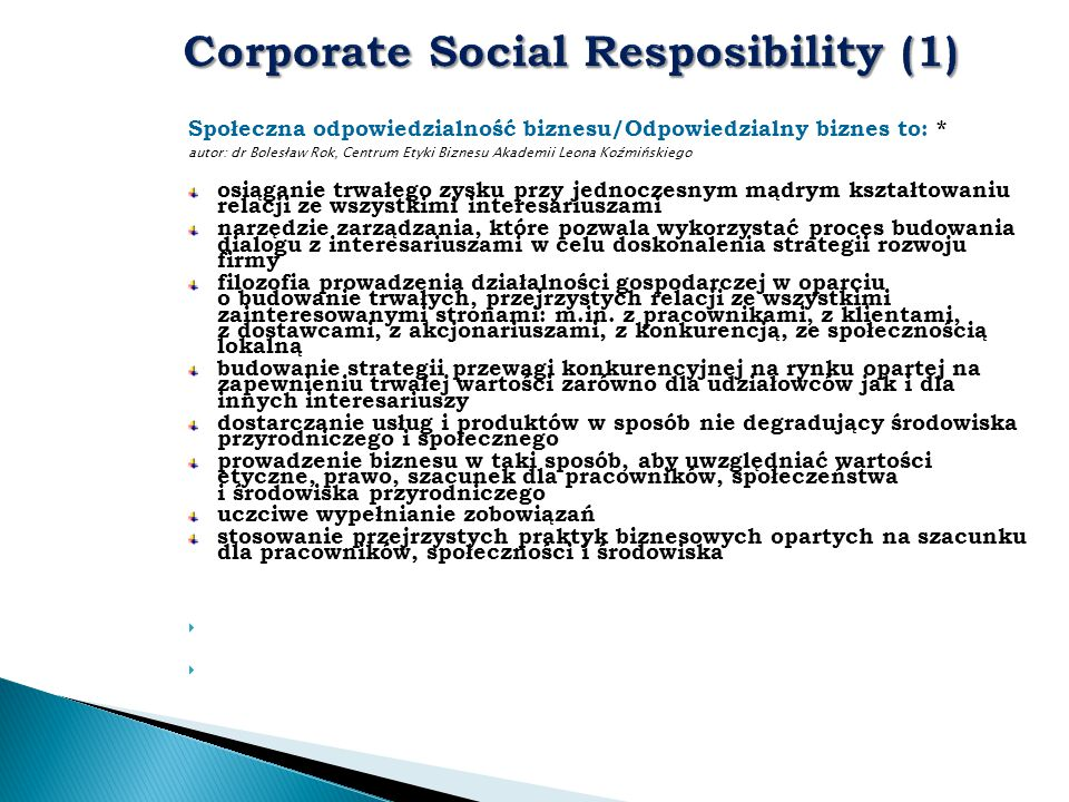 Corporate Social Resposibility (1)