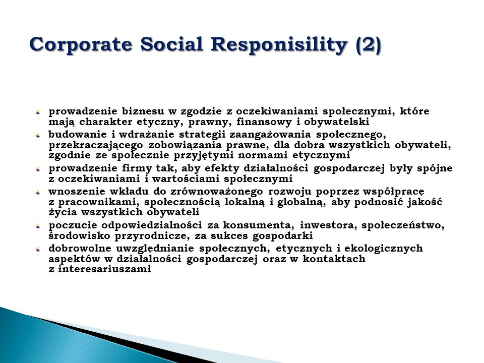Corporate Social Responisility (2)