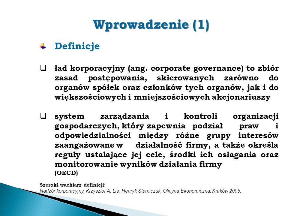 Wprowadzenie (1) Definicje