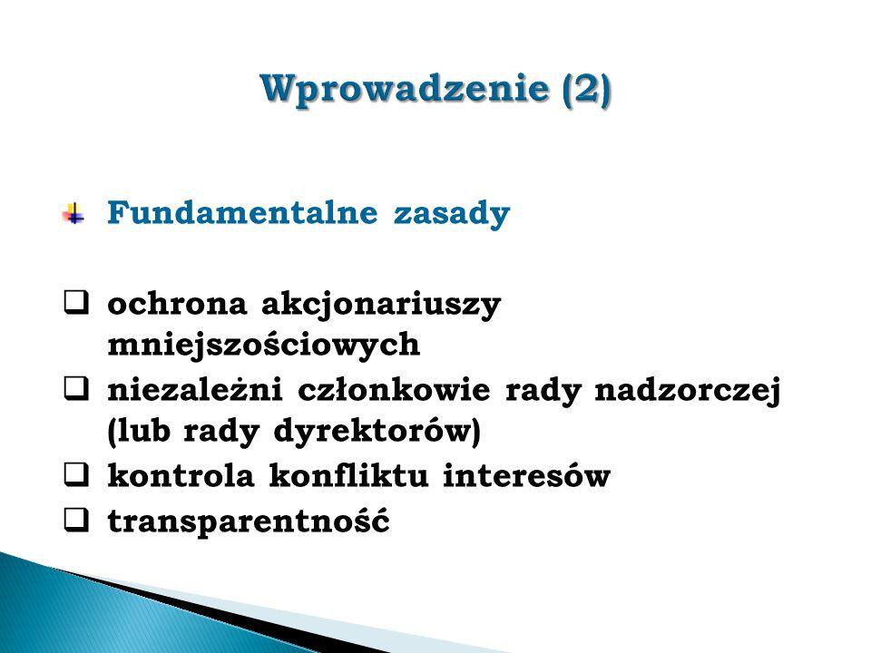 Wprowadzenie (2) Fundamentalne zasady