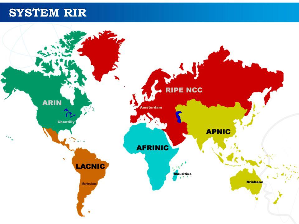 SYSTEM RIR