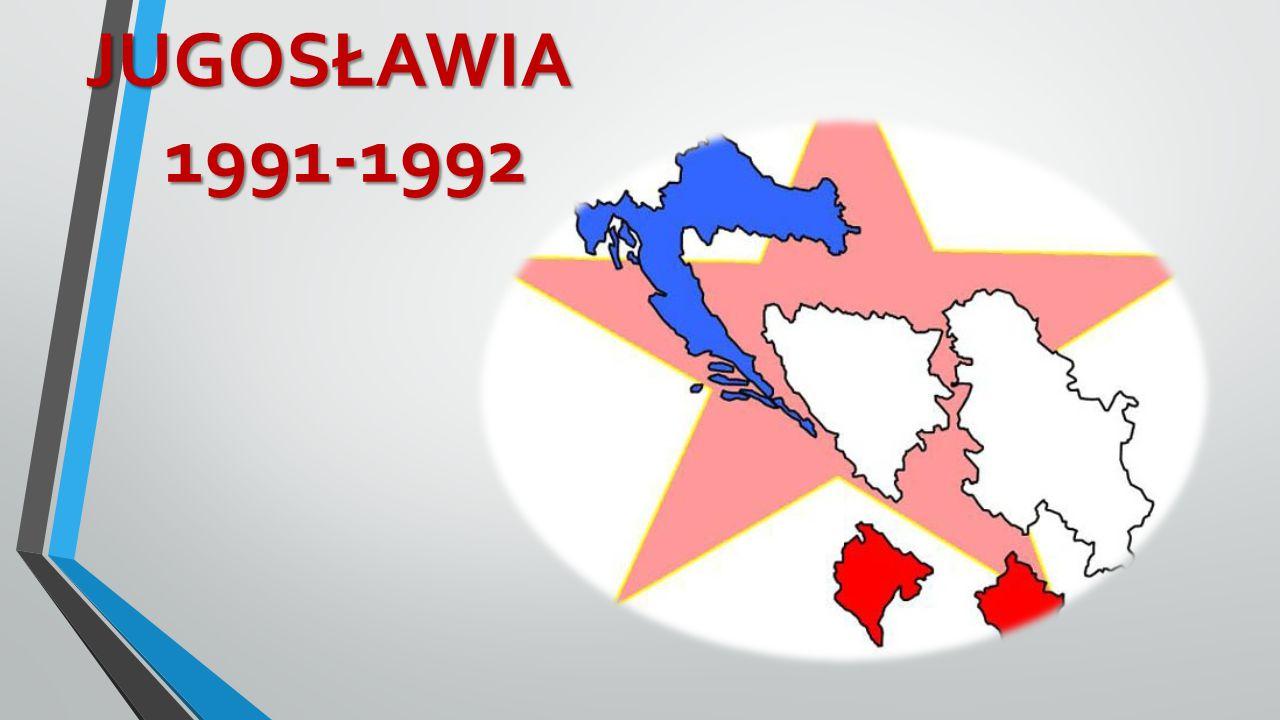 JUGOSŁAWIA 1991-1992