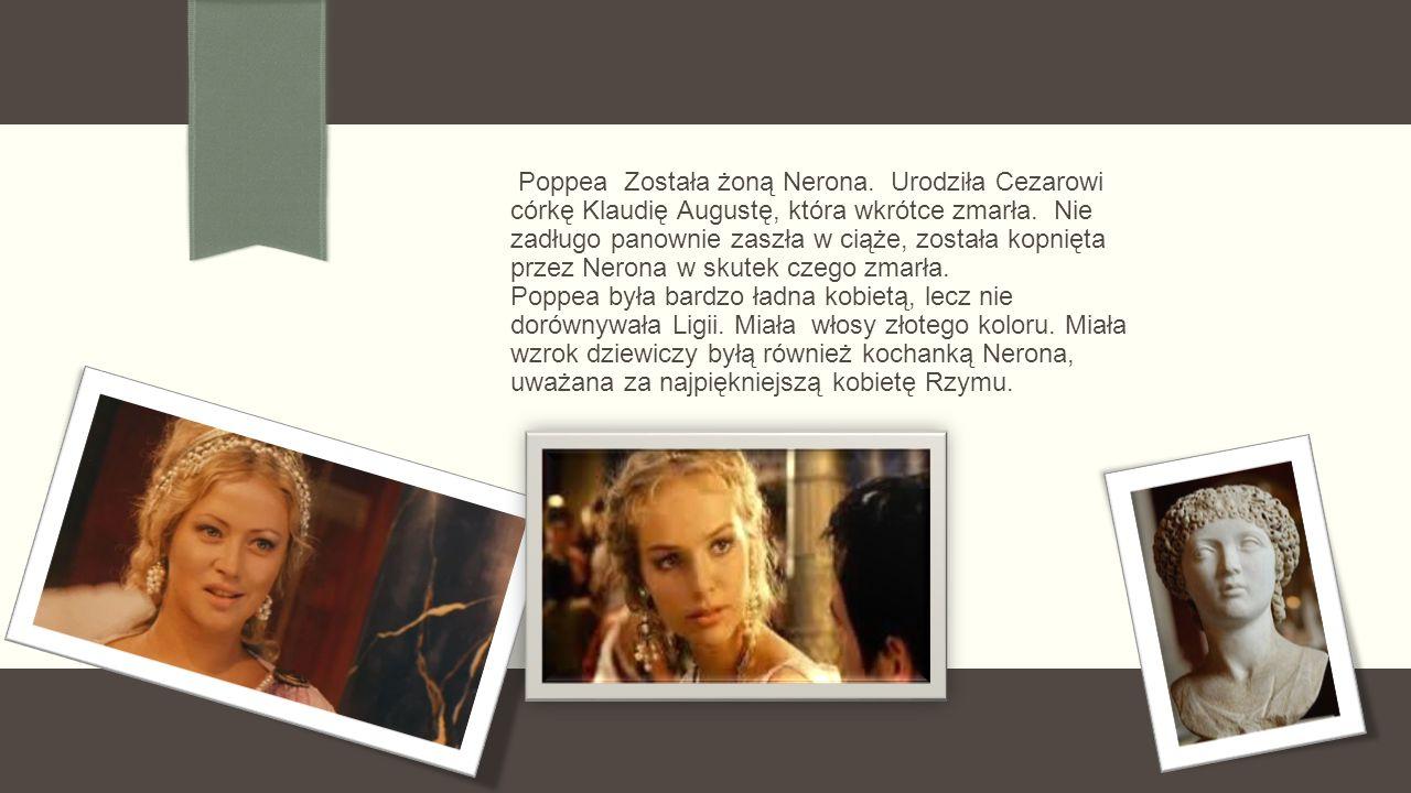 Poppea Została żoną Nerona