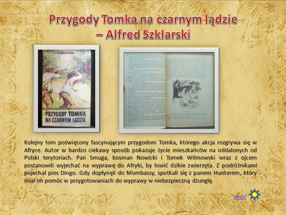 Przygody Tomka na czarnym lądzie – Alfred Szklarski