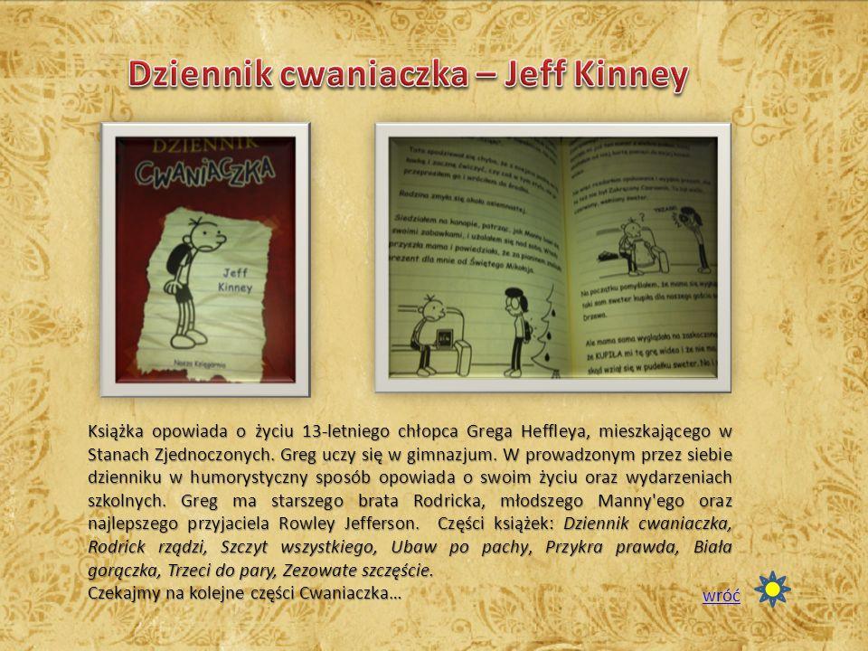 Dziennik cwaniaczka – Jeff Kinney