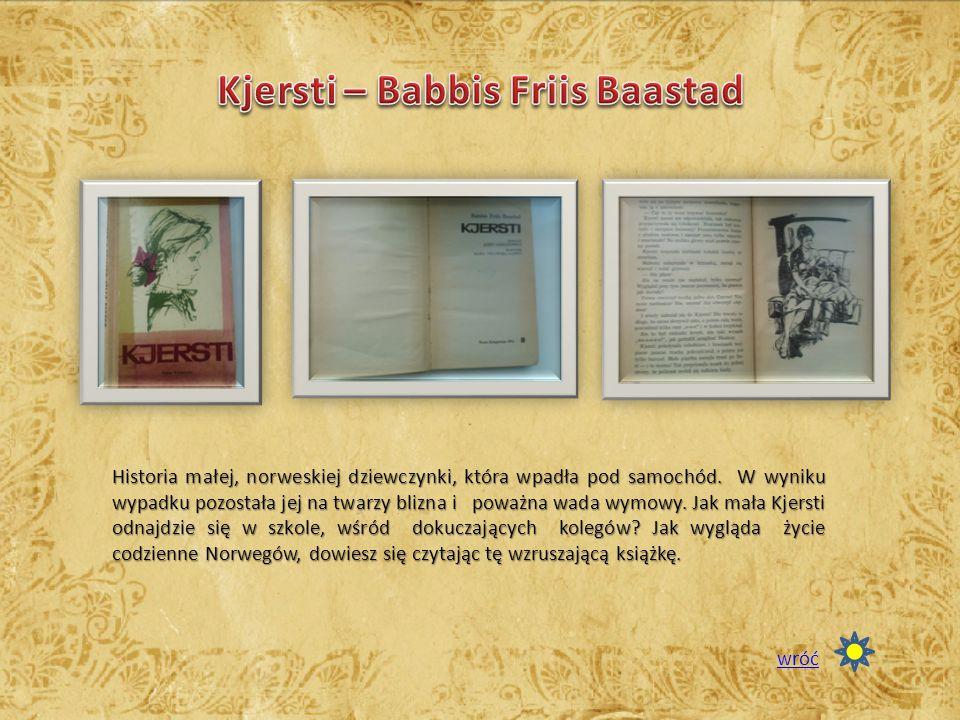 Kjersti – Babbis Friis Baastad