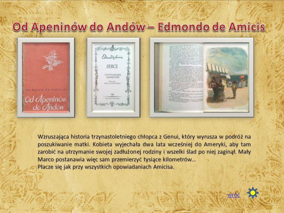 Od Apeninów do Andów – Edmondo de Amicis
