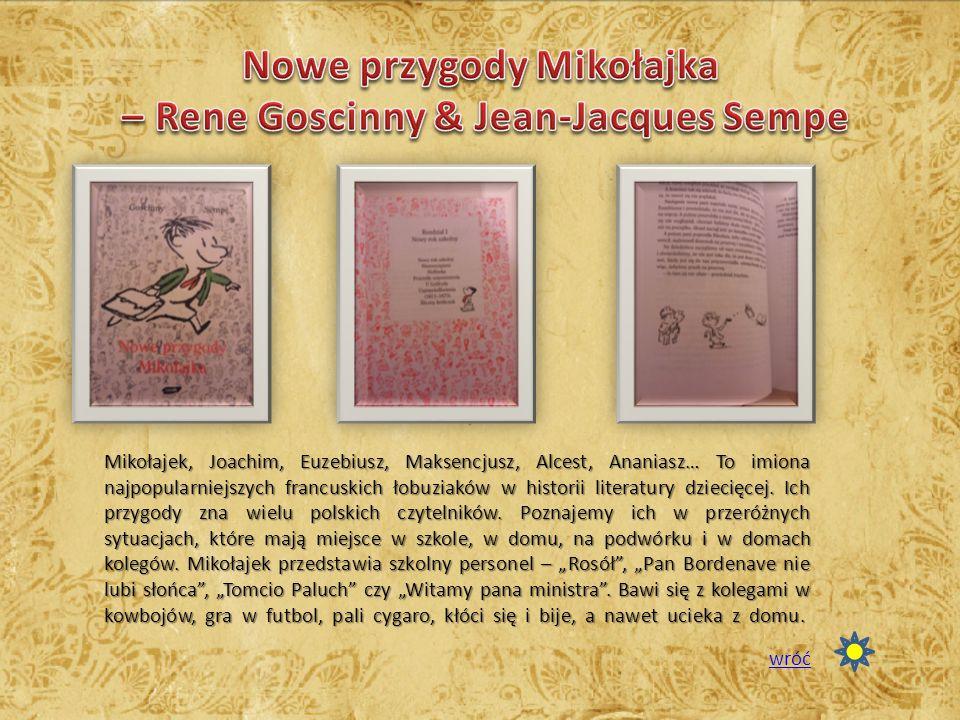 Nowe przygody Mikołajka – Rene Goscinny & Jean-Jacques Sempe