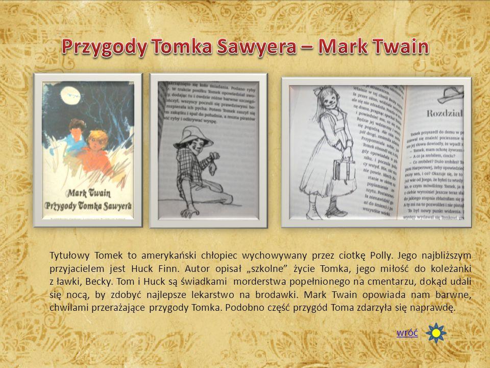 Przygody Tomka Sawyera – Mark Twain